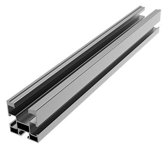 Profilo per impianto fotovoltaico alluminio