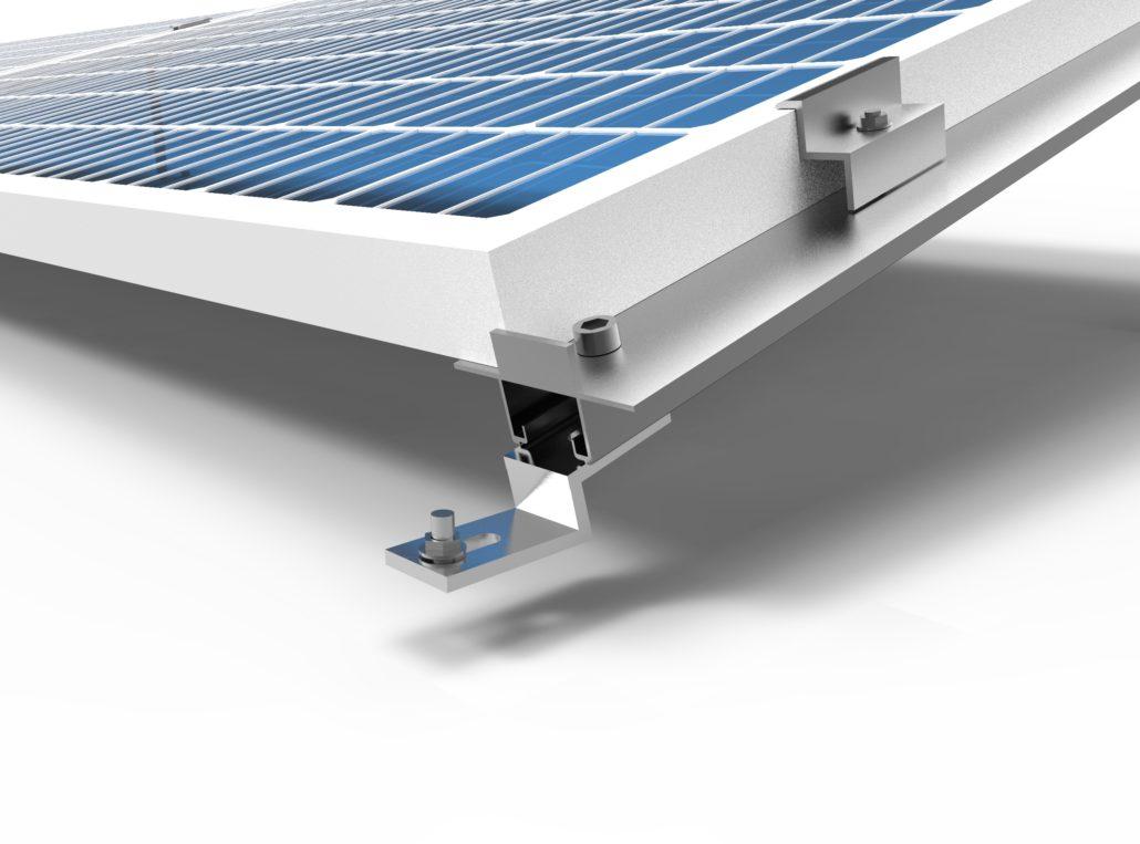Kit montaggio pannelli fotovoltaici