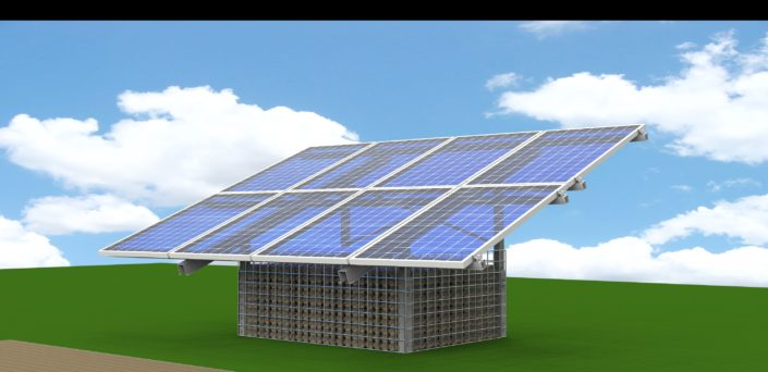 Monogabbia impianto a terra fotovoltaico