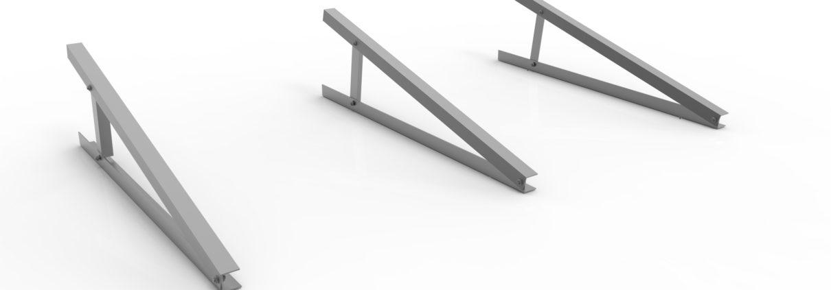 Triangoli alluminio fotovoltaico