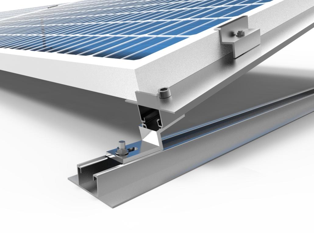 Kit montaggio Alluminio tetti piani