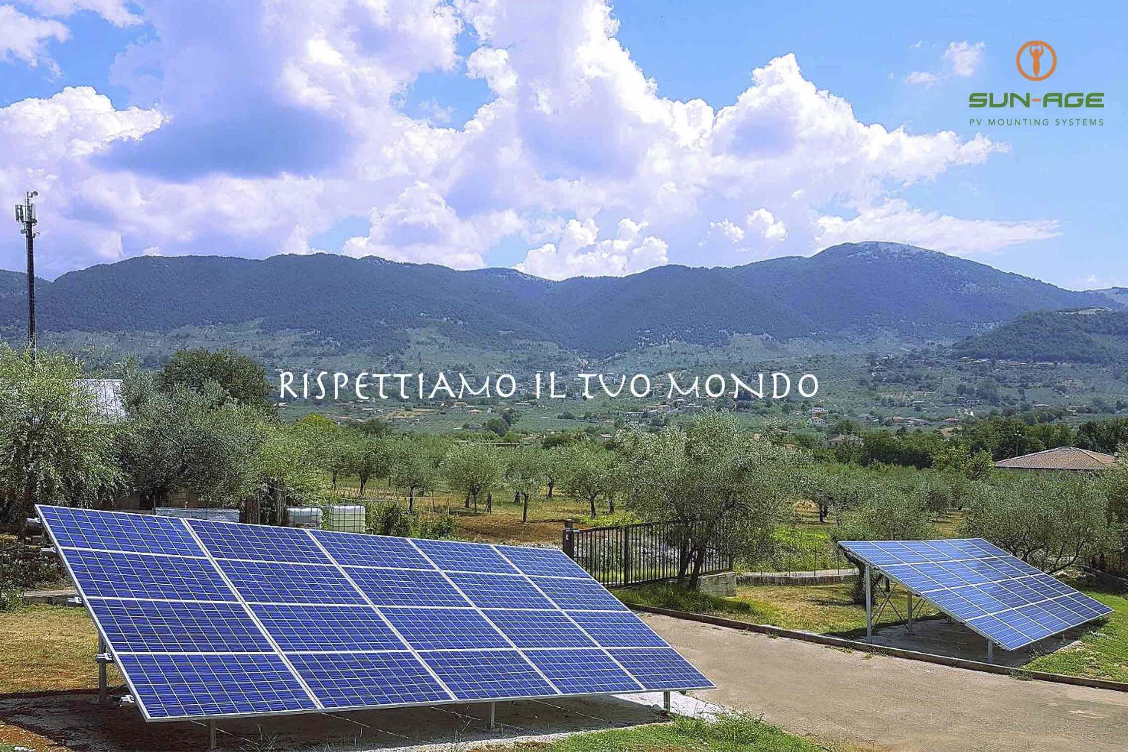 Staffe fotovoltaico