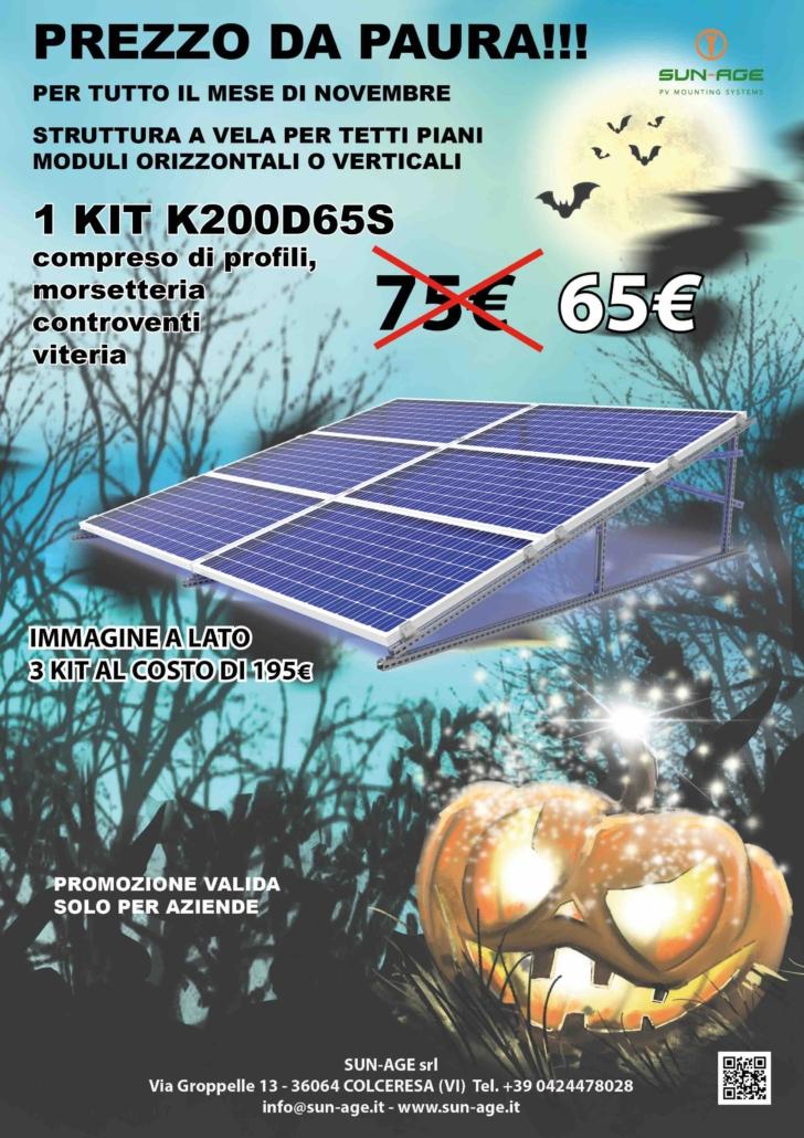 Tetti piani fotovoltaico